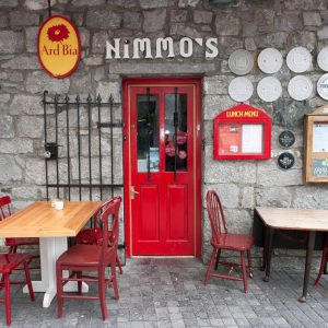 entrance to nimmos Galway