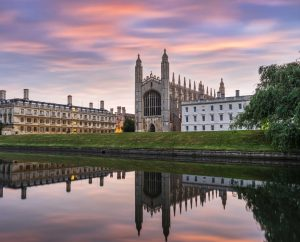 Clare and Kings College Cambridge